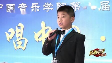 传唱中国 中国音乐学院第八届考级大赛   蔡长轩