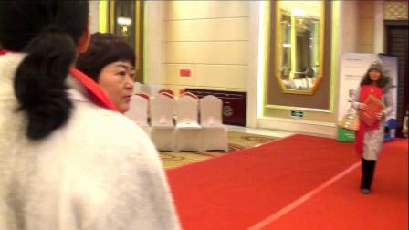辛集市皮革商会2019团拜会 企业家们入场签名仪式 摄制 三石