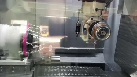 千岛机械 QD580磨削加工钻头操作视频