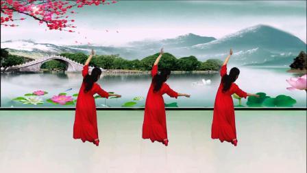 永州市冷水滩区秀舞芳华广场舞《桥边姑娘》