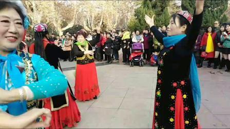 郑州天山雪莲艺术团2020年元旦联谊晚会