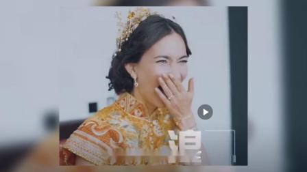 韩庚卢靖姗中式婚礼太喜庆新郎肩扛新娘超配合