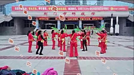 红蝴蝶广场腰鼓舞《张灯结彩》