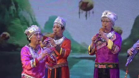 葫芦丝演奏《迷人山歌》演出团队 丝路花语