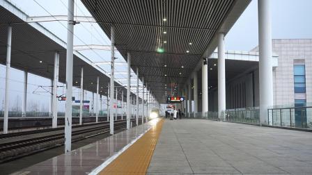 【2019.12】G1822次(上海虹桥~洛阳龙门)丹阳北站4道停车 CRH380BL-5894
