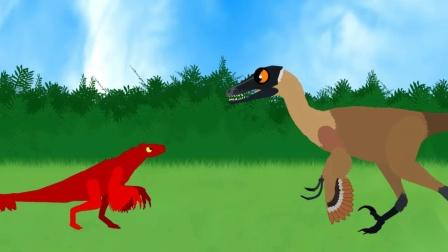 翼龙救美鱼  恐龙乐园历险记