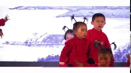 闻喜县东镇镇晨曦幼儿园2020年庆元旦小班古诗串烧