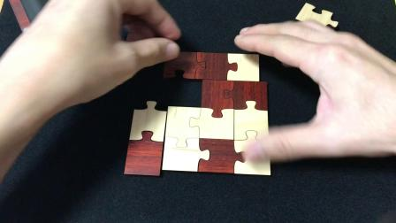 Framed Jigsaw By Jean Claude Constantin Solution 下篇