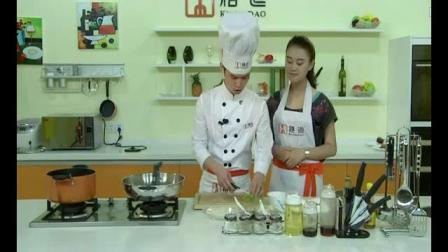 烹饪美食教学 蛋花炒腊肠的做法