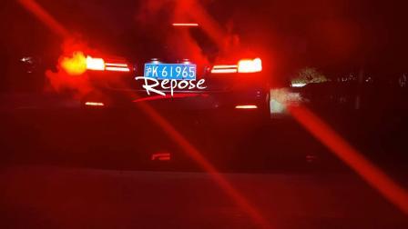20款宝马530i Repose中尾段四出阀门款排气路跑声音效果视频