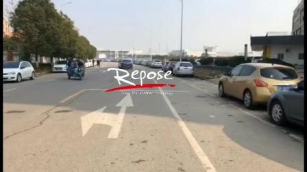 奔驰S400L Repose中尾段阀门款排气装车路跑声音效果视频