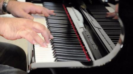 Roland GP-609 三角电钢琴演示——键盘中国
