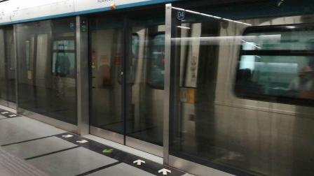 北京京港地铁4号线016号车 黄村西大街站出站(天宫院站方向)