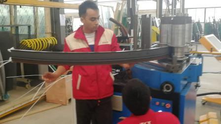 数控滚弯机,高品质断桥铝门窗弯圆,型材弯曲机