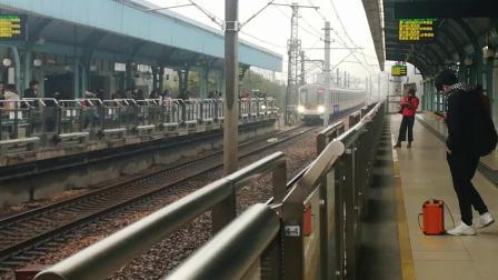 上海地铁1号线钢铁侠01075号车.莲花路进站(富锦路方向)(10)