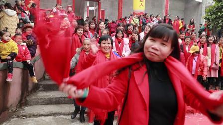 20191222宾阳县新桥镇西甘村祭冬盛聚庆典实况