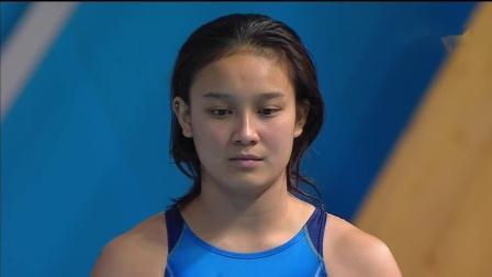 Kazan2013 Women's 3m synchro final