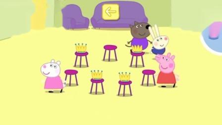 小猪佩奇游戏:只剩下小羊苏西和佩奇了,她们谁会赢呢?