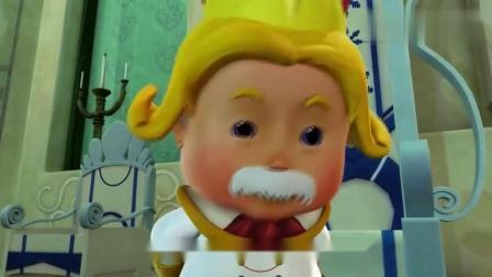 猪猪侠:猪猪侠明知徽章是银牌,但是听完故事高兴坏了!