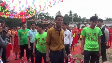 澄迈县中兴镇万坡村第二届出嫁女回娘家活动
