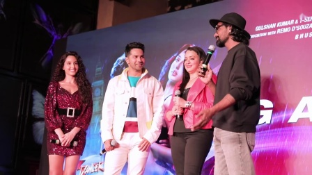 Street Dancer 3D - Garmi Song Launch Event - Varun, Nora, Shraddha, Badshah