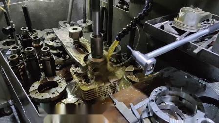LAWCR汽缸壁耐磨涂层加工车间珩磨汽缸重塑耐磨层修复汽缸非镗缸下套矿缸