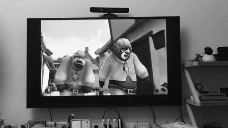 灰白影片,熊出没:熊大、熊二偷辣咖喱丸