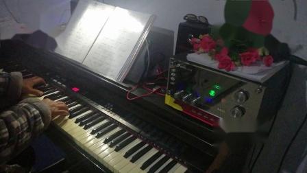 电子琴演奏,菜花黄