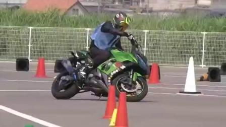 石碳纪/石头 Kawasaki忍者1000 金卡纳练习:车高调校