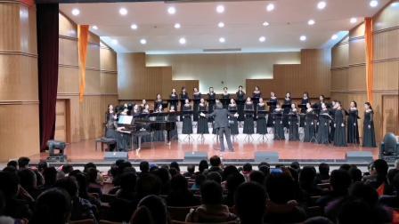 相约2020•安宁区教师合唱团新年音乐会在兰州城市学院音乐厅举行