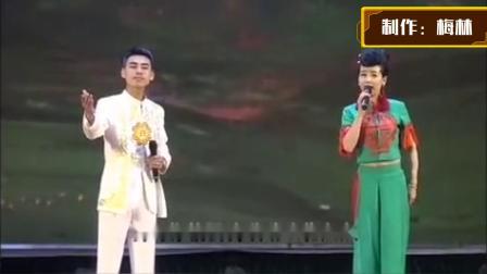 二人台对唱——祁富、张红霞演唱《二道圪梁》