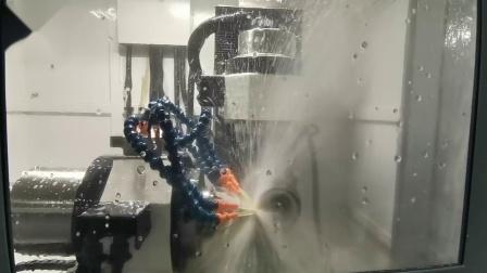 千岛机械 Q5生产∮8R1圆鼻刀操作视频