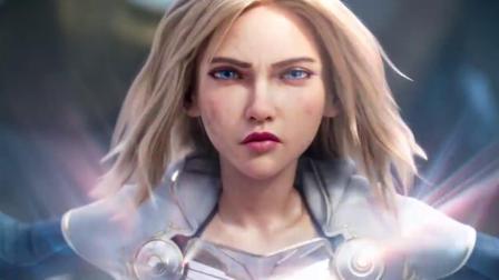 英雄聯盟2020新賽季宣傳CG戰士