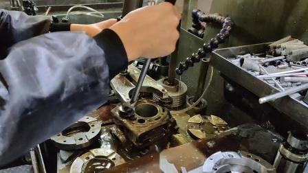 LAWCR修复川崎KDX200中缸陶瓷缸修复非镗缸下套LAWCR中缸耐磨涂层工艺加工修复汽缸耐磨镀层