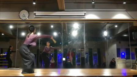 肖岚老师舞蹈 发如雪