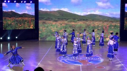 乡村春晚作品 舞蹈《梦中的妈妈》 指导 贾英 摄像 许进芝 制作 三石