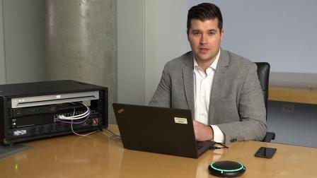 舒尔 P300 IntelliMix®音频会议处理器演示