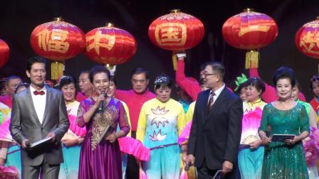 玉海摄《主持人致结束辞》老朋友2020新春嘉年华