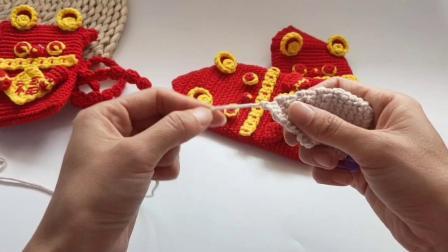 第170集小老鼠红包编织教程多款式视频