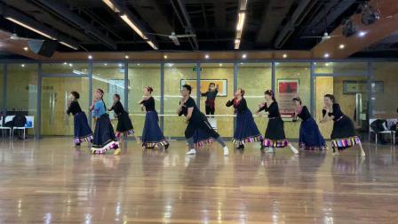 李翼雪老师舞蹈《心上的罗加》