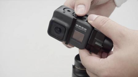 飞宇稳定器 | 安装GoPro8 Hero夹具教学视频