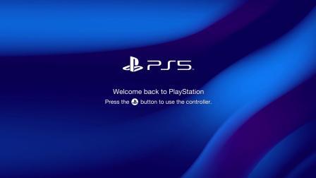 玩家自制PS5启动画面预览