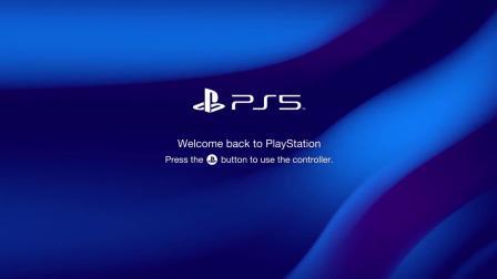 【游民星空】玩家自制PS5启动画面