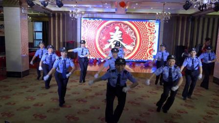 舞蹈: 《人民警察之歌》  松柏艺术团