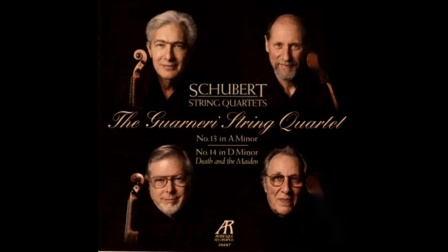 "Schubert String Quartet No.14 in D Minor, D.810, ""Death and the Maiden"". Garneri"