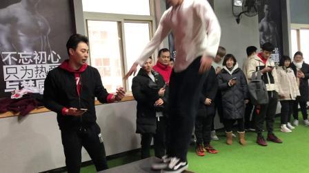 山东临沂济南567GO零基础健身教练培训体能对战