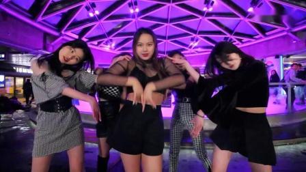 女子舞团翻跳 Red Velvet女团热单 – Psycho - 舞蹈功底不输韩国各大女团。。。
