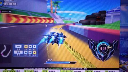 完美漂移极速赛车场极刃风暴跑法