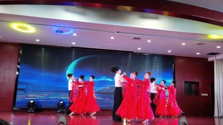 常宁市老年大学2020年春节联欢演出新天地交谊舞蹈队月亮船