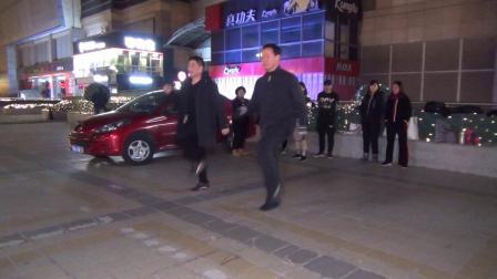 北京百荣伟伟曳步舞 新学员表演《七连》 2020-01-13
